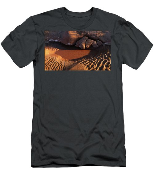 Sand Puddle Men's T-Shirt (Athletic Fit)