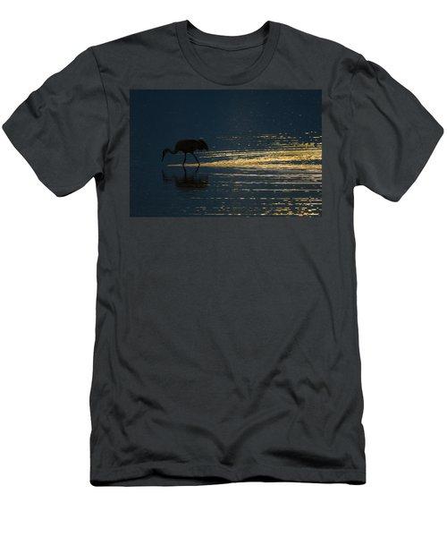 Light Trails Men's T-Shirt (Athletic Fit)