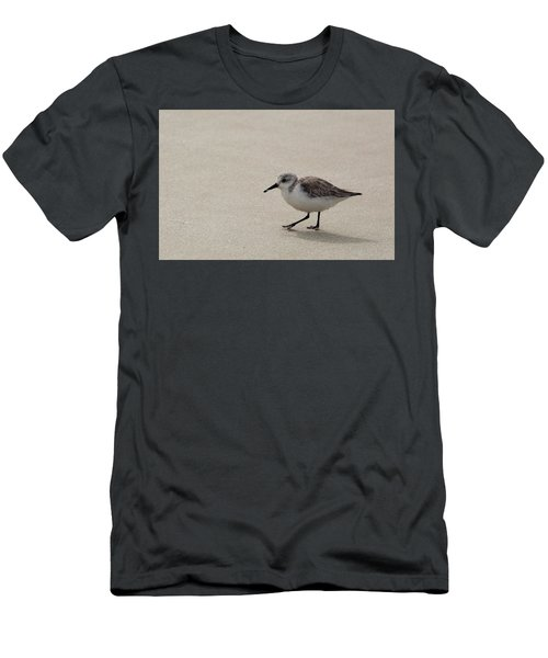 Sandpiper At The Beach Men's T-Shirt (Athletic Fit)