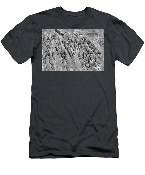 Sands Of Time Monochrome Art By Kaylyn Franks  Men's T-Shirt (Athletic Fit)