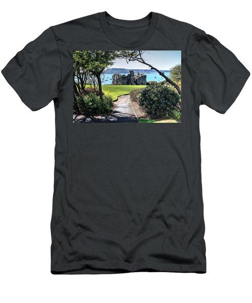 Sandsfoot Castle Weymouth Uk Men's T-Shirt (Athletic Fit)