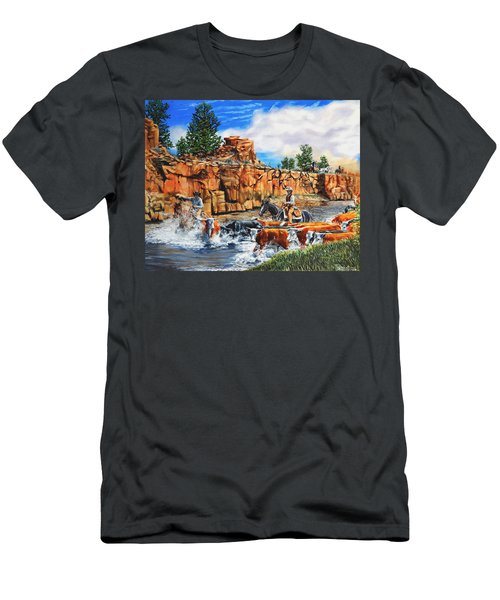 Sandstone Crossing Men's T-Shirt (Athletic Fit)