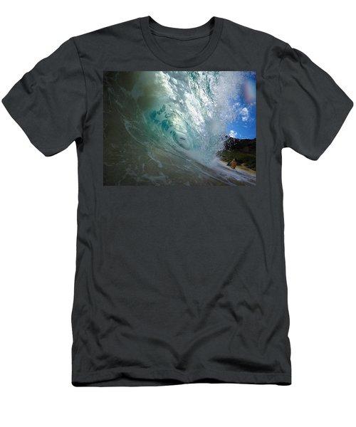 Sandy Cascade Men's T-Shirt (Athletic Fit)