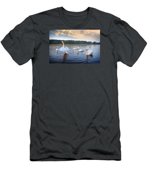 Sandy Water Park 5 Men's T-Shirt (Athletic Fit)