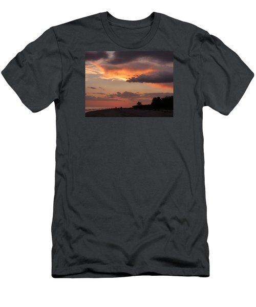 Sanibel At Dusk Men's T-Shirt (Athletic Fit)