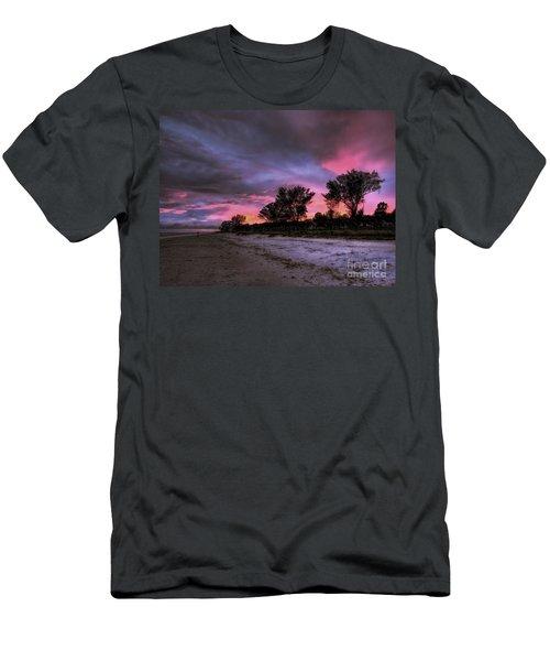 Sanibel Island Twilight Men's T-Shirt (Athletic Fit)