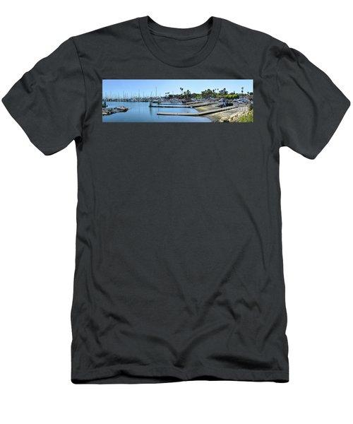 Santa Barbara Marina Men's T-Shirt (Athletic Fit)