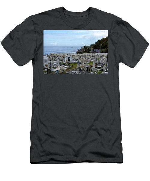 Santa Maria Magdalena De Pazzis Cemetery, Old San Juan Men's T-Shirt (Athletic Fit)