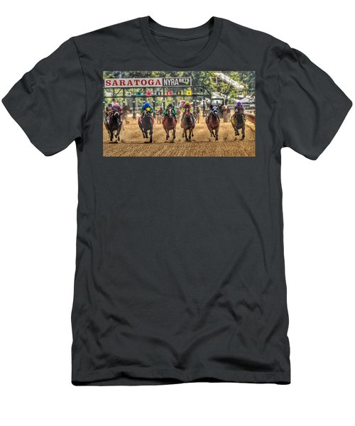 Saratoga Men's T-Shirt (Athletic Fit)