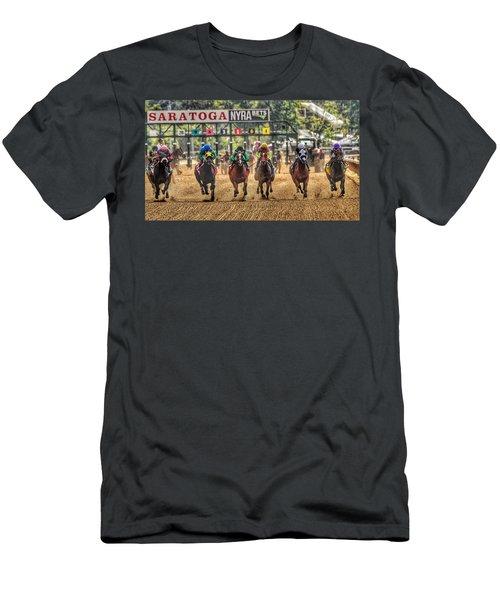 Saratoga Men's T-Shirt (Athletic Fit)