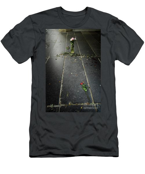 Men's T-Shirt (Slim Fit) featuring the photograph Saskia Rembrandt's Tomb by RicardMN Photography