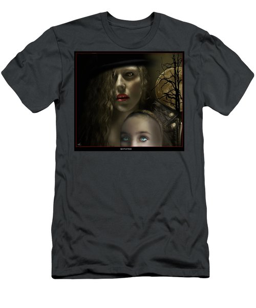 Satiated Men's T-Shirt (Athletic Fit)