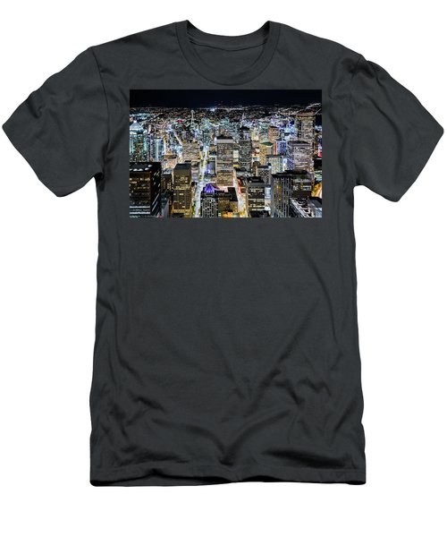 Seattle Lights Men's T-Shirt (Athletic Fit)
