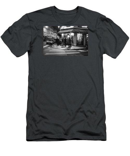 Saturday Evening In Paris Men's T-Shirt (Athletic Fit)