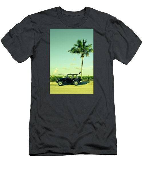 Men's T-Shirt (Slim Fit) featuring the photograph Saturday by Laura Fasulo