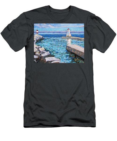 Saugeen Range Light Men's T-Shirt (Athletic Fit)
