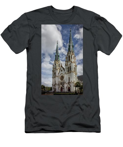 Savannah Historic Cathedral Men's T-Shirt (Athletic Fit)