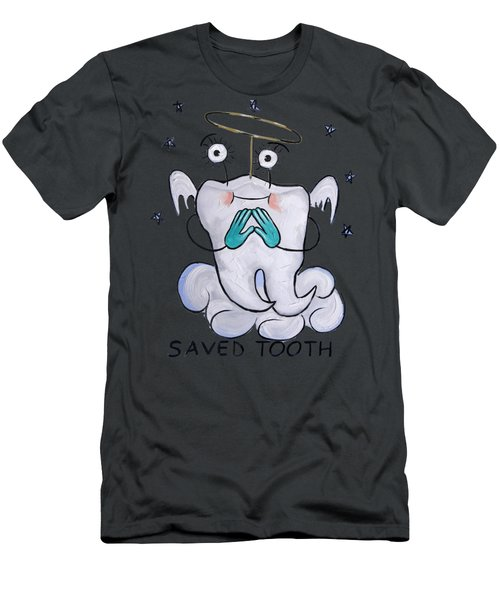 Saved Tooth T-shirt Men's T-Shirt (Athletic Fit)