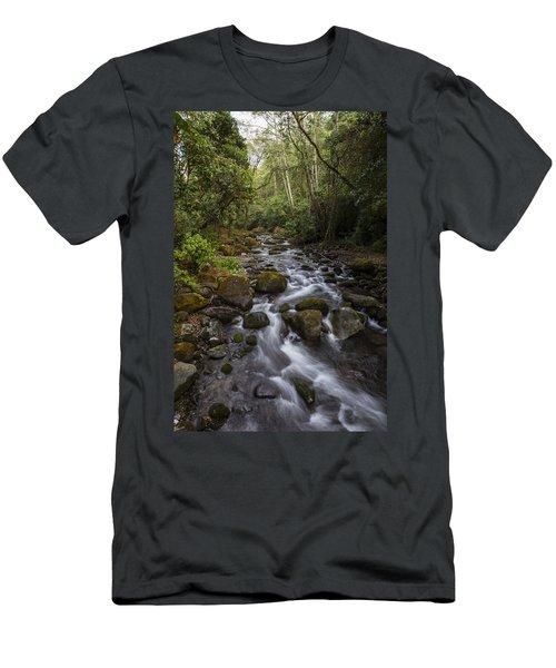 Savegre River - Costa Rica 4 Men's T-Shirt (Athletic Fit)