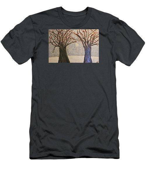 Sawsan's Trees Men's T-Shirt (Slim Fit) by Mario Perron
