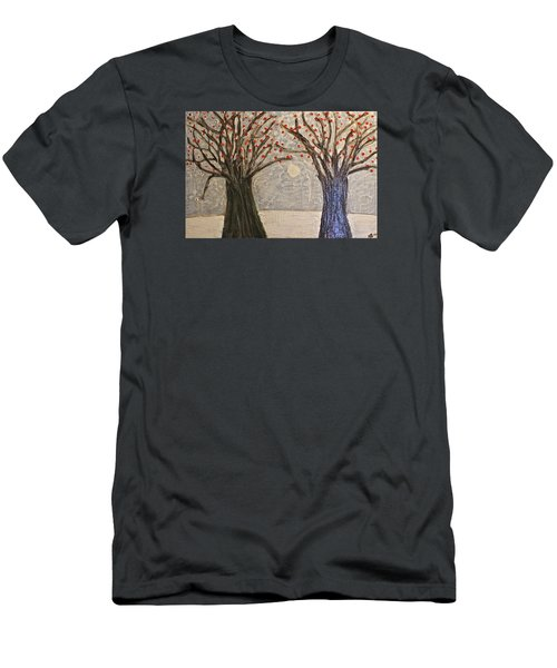 Sawsan's Trees Men's T-Shirt (Slim Fit)