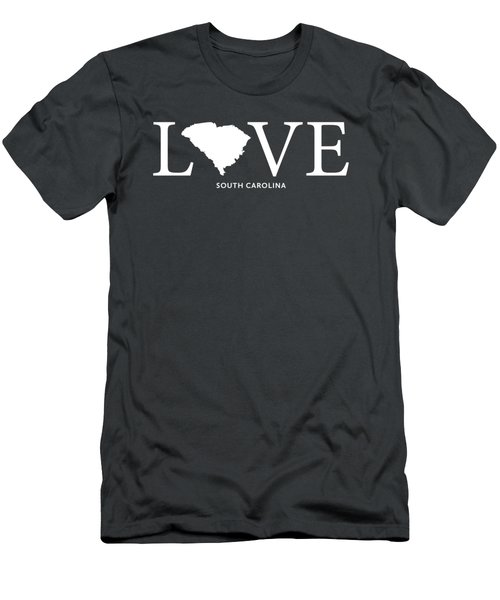 Sc Love Men's T-Shirt (Slim Fit) by Nancy Ingersoll