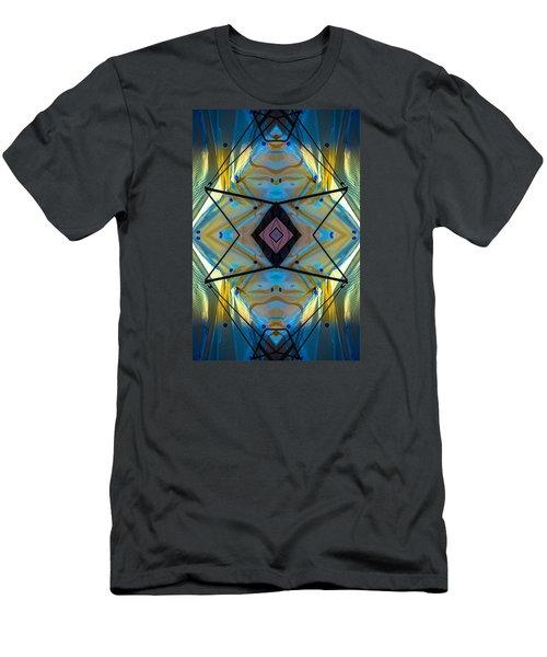 Scaffolding 5275 N69v2 Men's T-Shirt (Slim Fit) by Raymond Kunst