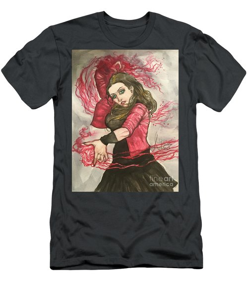 Scarlet Witch  Men's T-Shirt (Athletic Fit)