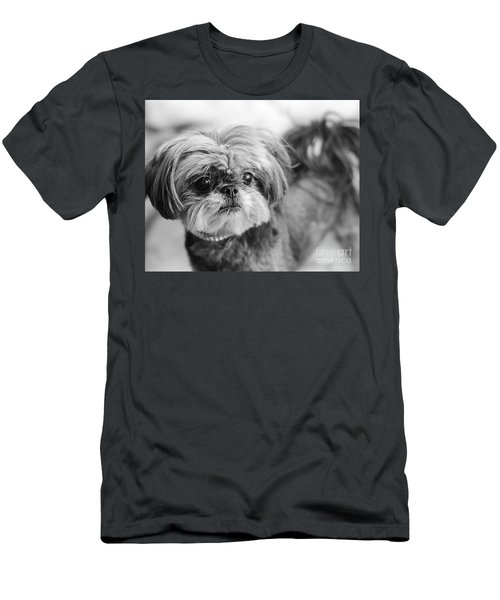 Scarlett B And W Men's T-Shirt (Athletic Fit)