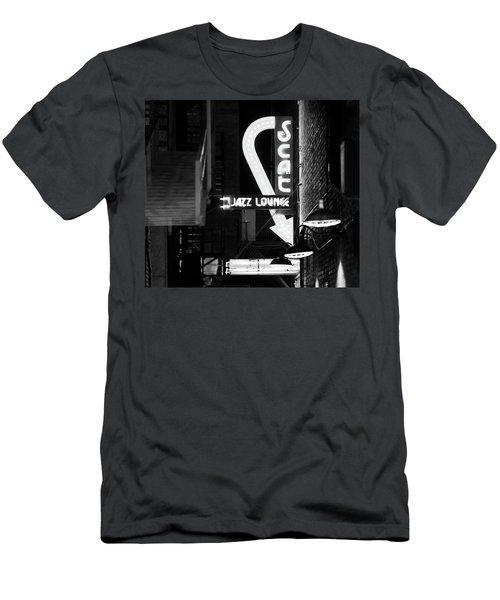 Scat Jazz Bw 11217 Men's T-Shirt (Athletic Fit)