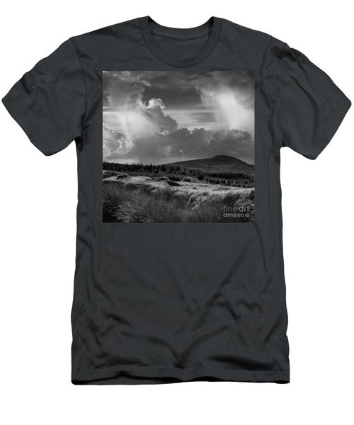 Scattering Clouds Over The Cronk Men's T-Shirt (Athletic Fit)