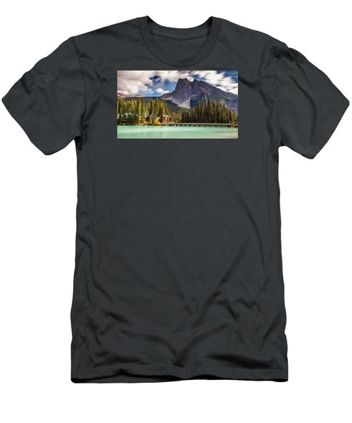 Scenic Emerald Lake  Men's T-Shirt (Athletic Fit)