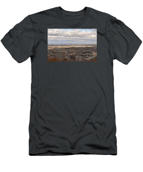 Scenic View Of Montreal Men's T-Shirt (Slim Fit) by Reb Frost
