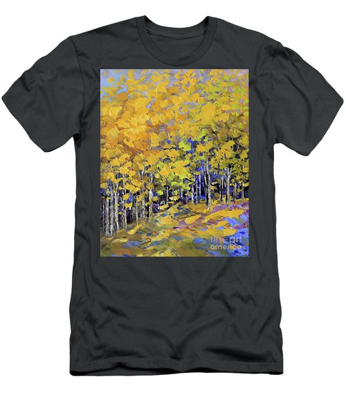 Scented Woods Men's T-Shirt (Slim Fit) by Tatiana Iliina