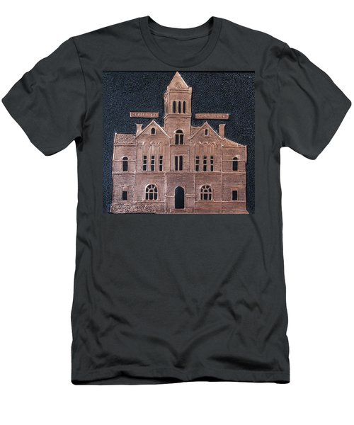 Schley County, Georgia Courthouse Men's T-Shirt (Athletic Fit)