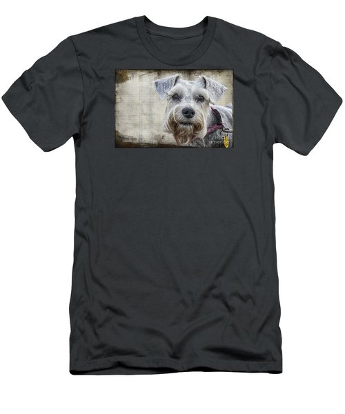 Schnauzer Fellow Men's T-Shirt (Athletic Fit)