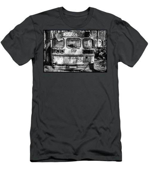 School Bus Men's T-Shirt (Athletic Fit)