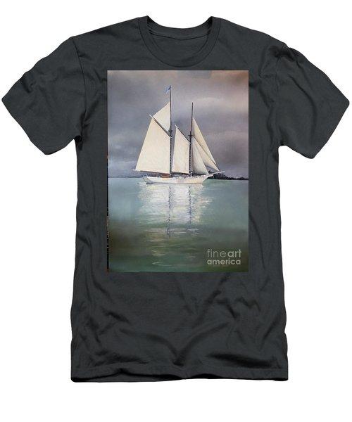 Schooner Men's T-Shirt (Athletic Fit)