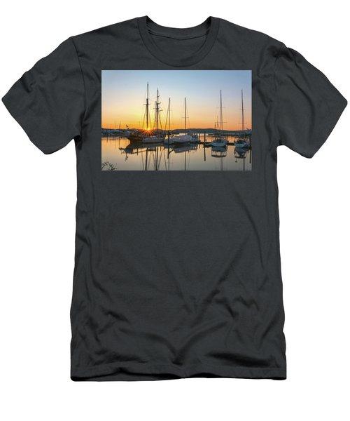Schooners Sunburst Men's T-Shirt (Athletic Fit)