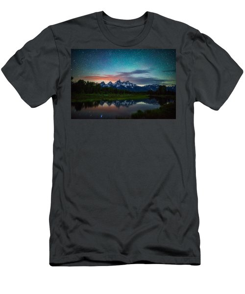Schwabacher Nights Men's T-Shirt (Athletic Fit)