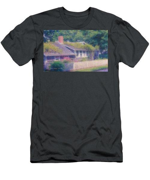 Sconset Cottage #3 Men's T-Shirt (Athletic Fit)