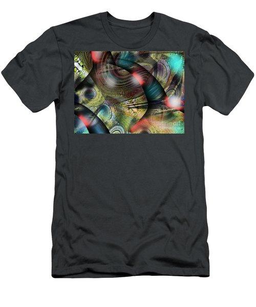 Screaming Spirals Men's T-Shirt (Slim Fit)