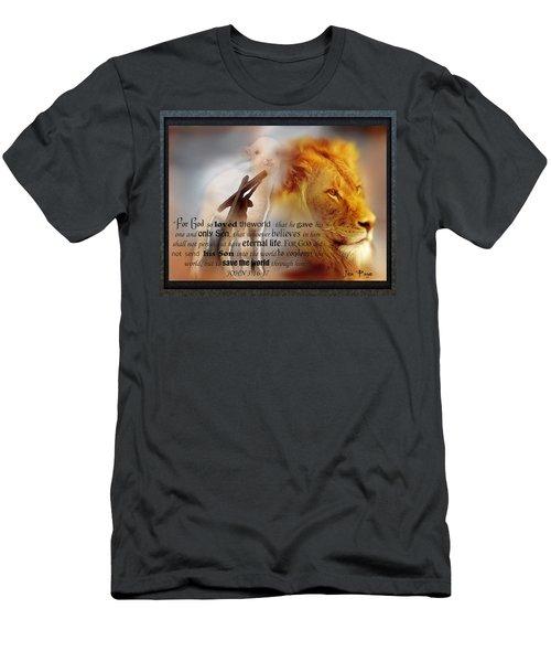 Scripture Art    Lamb Of God Men's T-Shirt (Athletic Fit)