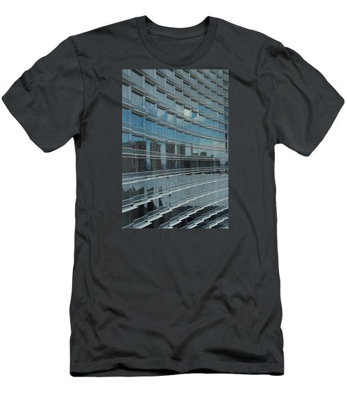 Sculpted Mirrors Men's T-Shirt (Slim Fit) by Michiale Schneider