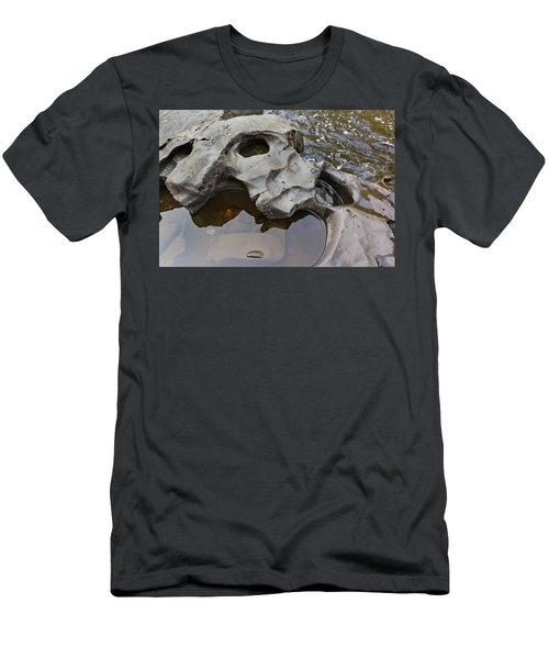 Sculpted Rock Men's T-Shirt (Slim Fit) by Peter J Sucy