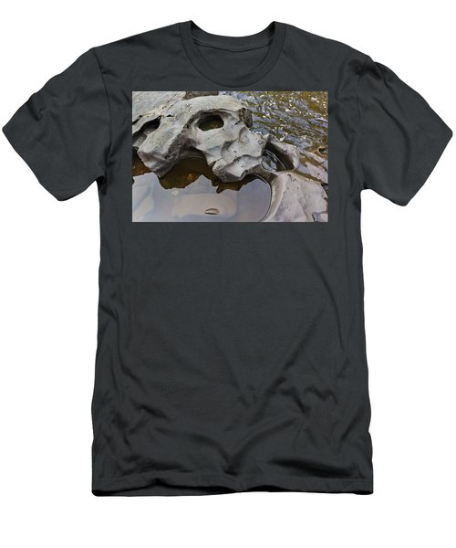 Sculpted Rock Men's T-Shirt (Athletic Fit)