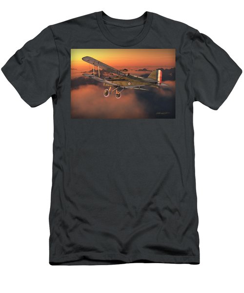 S.e. 5a On A Sunrise Morning Men's T-Shirt (Slim Fit) by David Collins