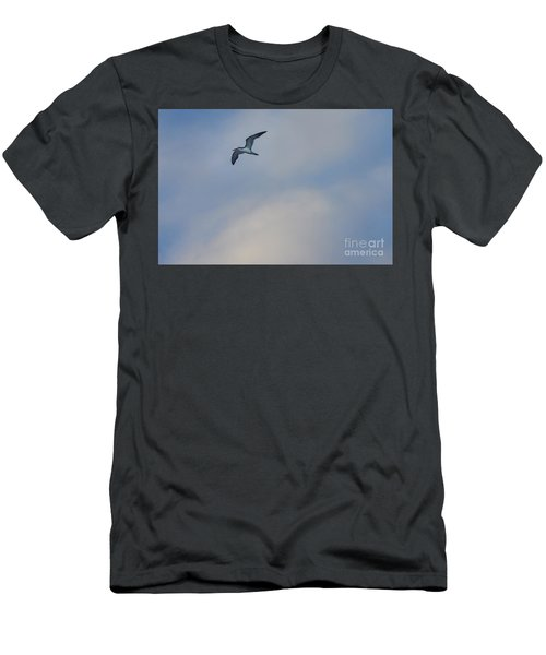 Sea Bird In Flight Men's T-Shirt (Athletic Fit)