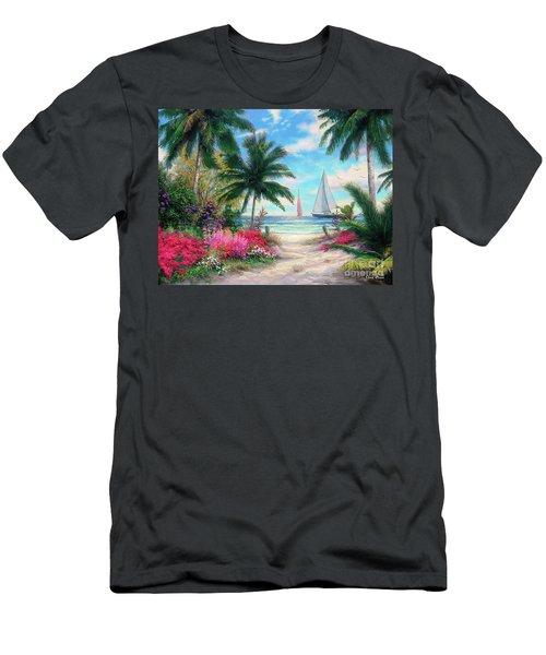 Sea Breeze Trail Men's T-Shirt (Athletic Fit)