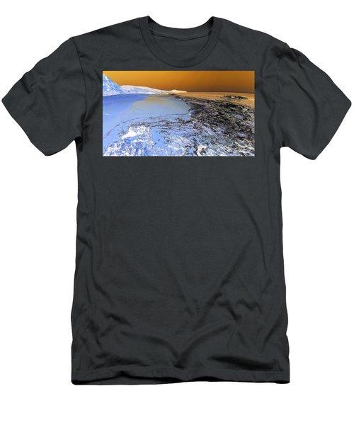 Sea Foam World Men's T-Shirt (Athletic Fit)